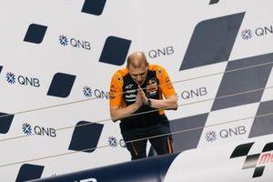 Podium: Aki Ajo, Red Bull KTM Ajo
