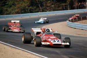 Jacky Ickx, Ferrari 312B2, Emerson Fittipaldi, Lotus 72D Ford
