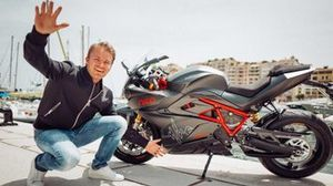 la moto di Nico Rosberg