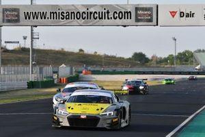 Riccardo Agostini, Daniel Mancinelli, Audi Sport Italia, AUDI R8 LMS, vincono la gara