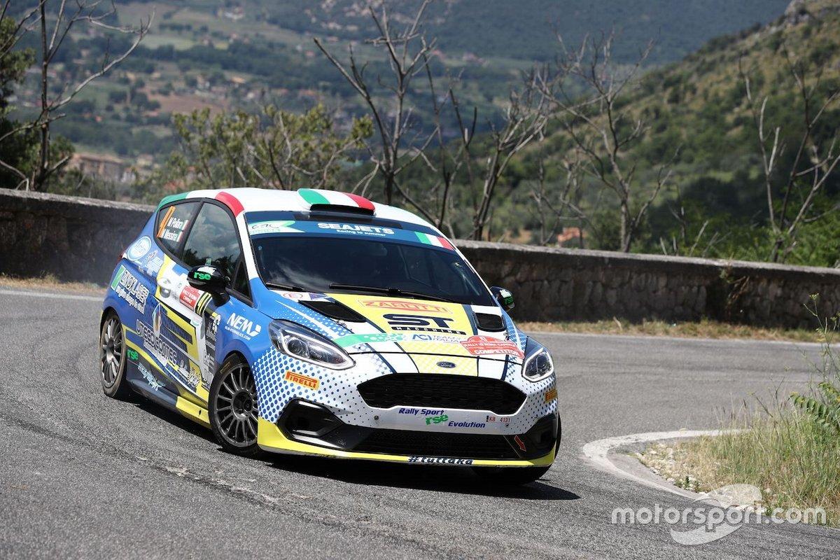 Marco Pollara, Maurizio Messina, Ford Fiesta Rally4