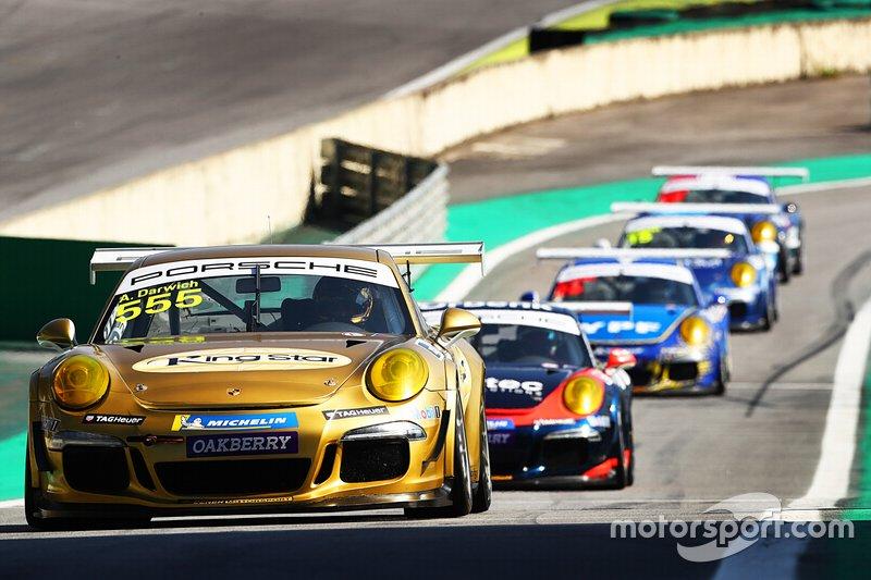 Darwich puxa a fila nos pits - Porsche