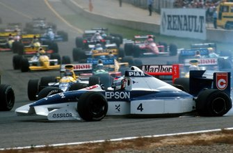 Jean Alesi, Tyrrell Ford spins