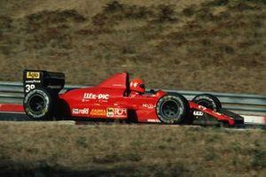 Bruno Giacomelli, Life F190, al GP d'Ungheria del 1990