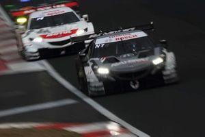 #100 RAYBRIG NSX-GT, #16 MOTUL MUGEN NSX-GT