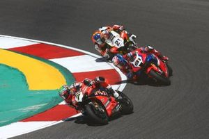 Chaz Davies, ARUBA.IT Racing Ducati, Leon Haslam, Team HRC