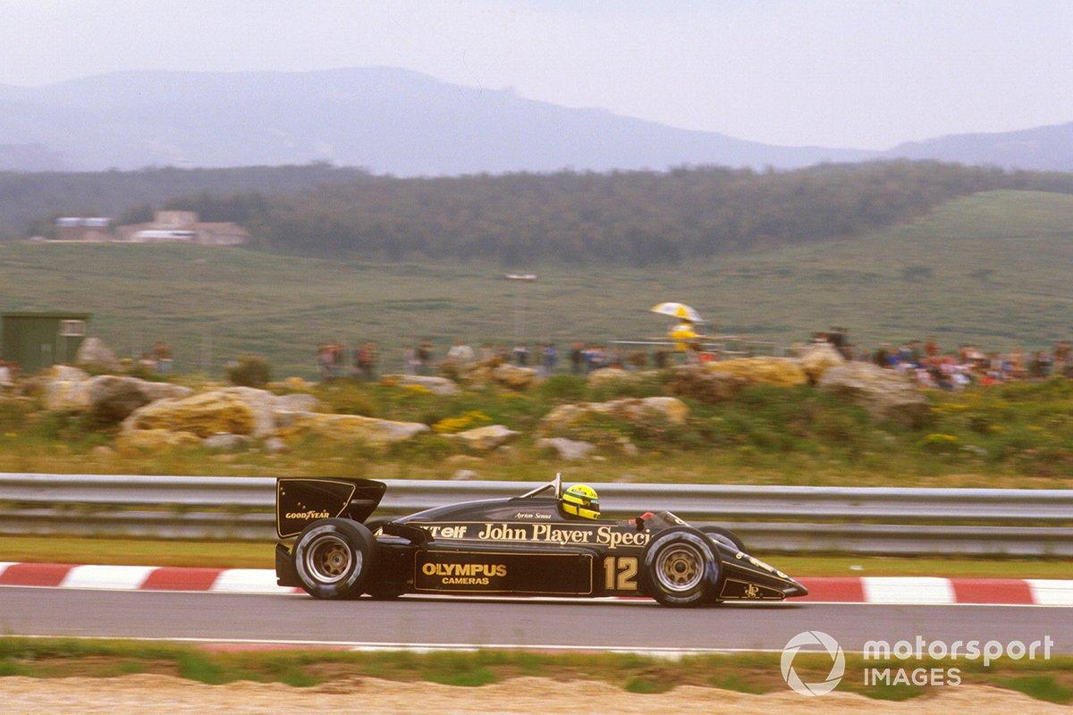 Ayrton Senna, Lotus 97T Renault