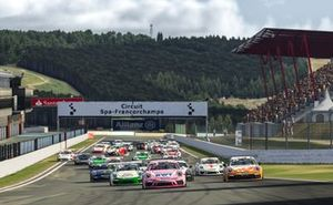 Start, Porsche Supercup Virtual Edition