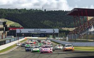 Виртуальный Суперкубок Porsche в Спа: старт кибергонки