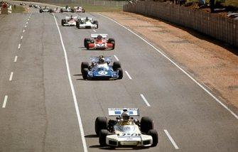Carlos Reutmann, Chris Amon and Clay Regazzoni