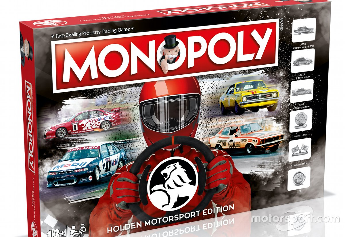 Monopoly Holden Motorsport edition