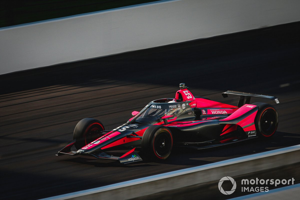 #55 Alex Palou, Dale Coyne Racing with Team Goh – Honda