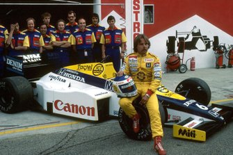 Кеке Росберг, Williams FW10