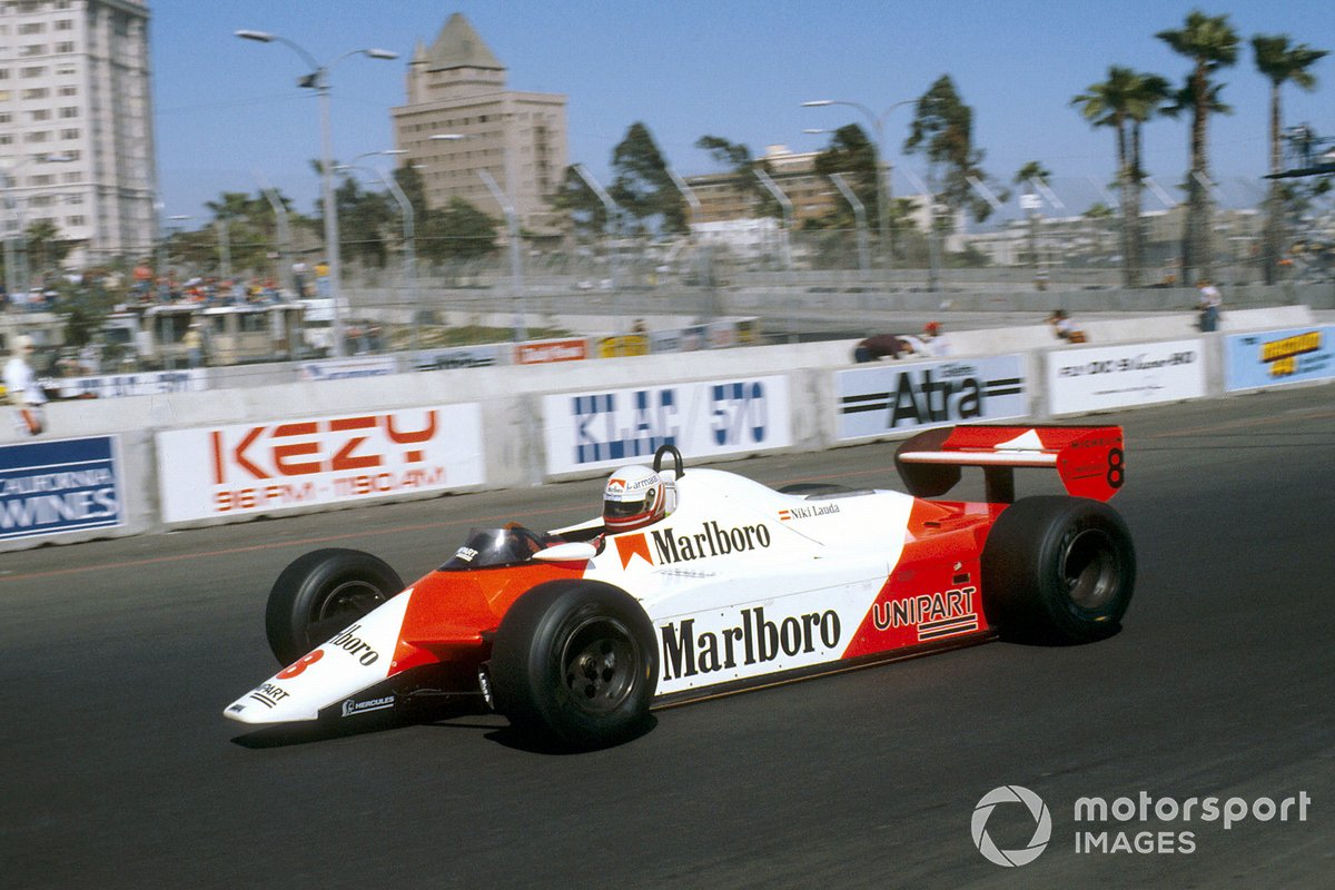 Niki Lauda - 8 victoires (1982-1985)