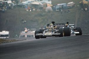 Reine Wisell, Lotus 72D Ford, Carlos Pace, March 711 Ford