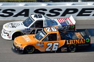 Tyler Ankrum, GMS Racing, Liuna! Chevrolet Silverado, Ty Majeski, Niece Motorsports, Niece Chevrolet Silverado