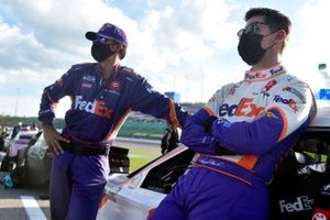 Denny Hamlin, Joe Gibbs Racing, FedEx Office Toyota Camry