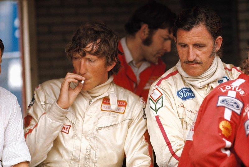 Jochen Rindt seu companheiro de equipe, Graham Hill.
