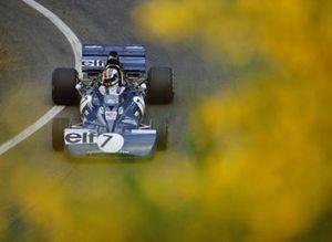 Francois Cevert, Tyrrell 003 Ford, during practice
