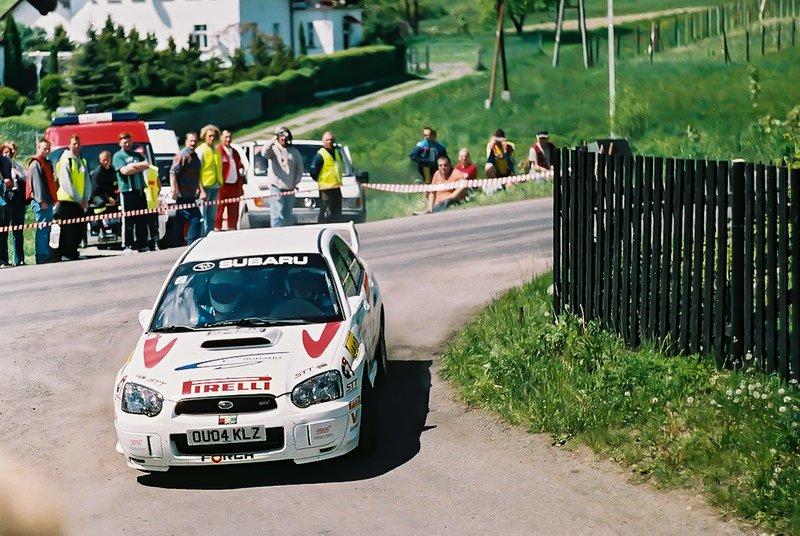 Leszek Kuzaj, Maciej Szczepaniak, Subaru Impreza STi N10