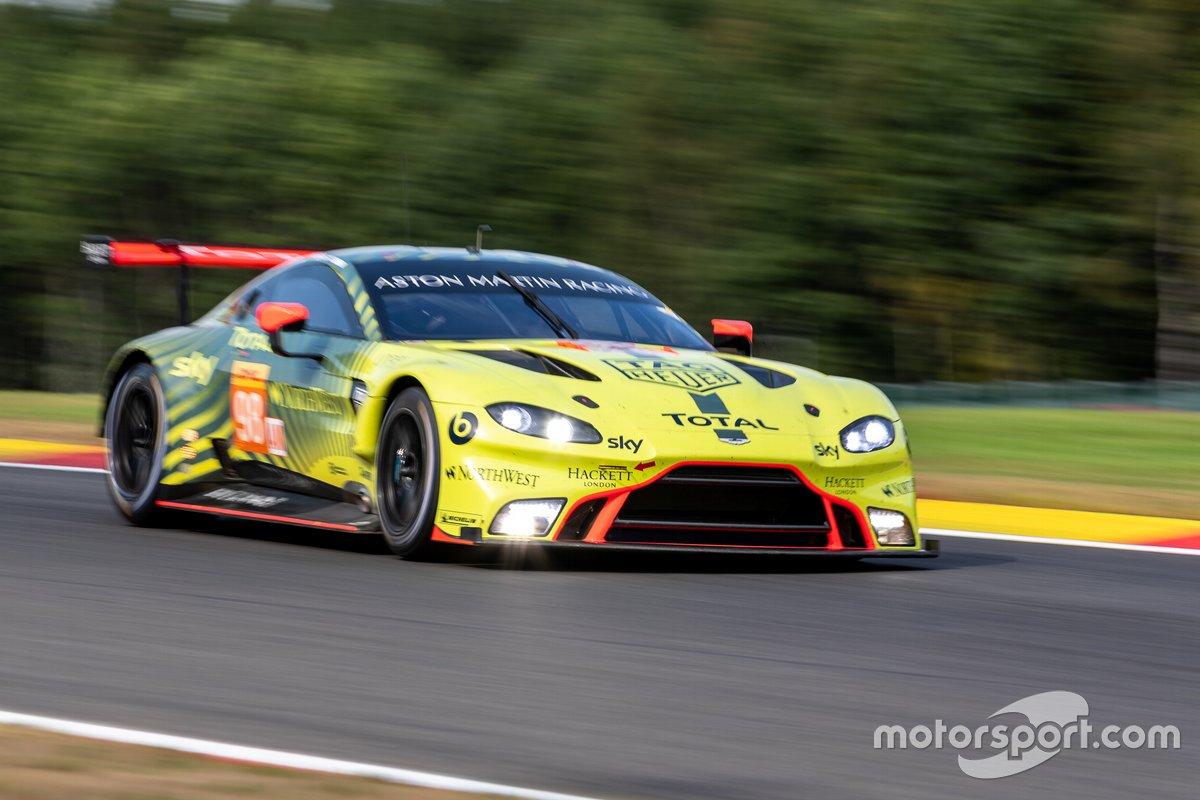 #98 ASTON MARTIN RACING - Aston Martin Vantage AMR: Paul Dalla Lana, Ross Gunn, Augusto Farfus
