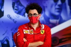 Mattia Binotto, Team Principal Ferrari, in the team principals Press Conference