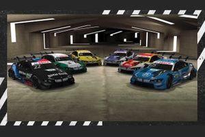 Philipp Eng, BMW Team RBM Marco Wittmann, BMW Team RMG Lucas Auer, BMW Team RMG, Timo Glock, BMW Team RMG, Sheldon Van Der Linde, BMW Team RBM, Jonathan Aberdein, BMW Team RBM