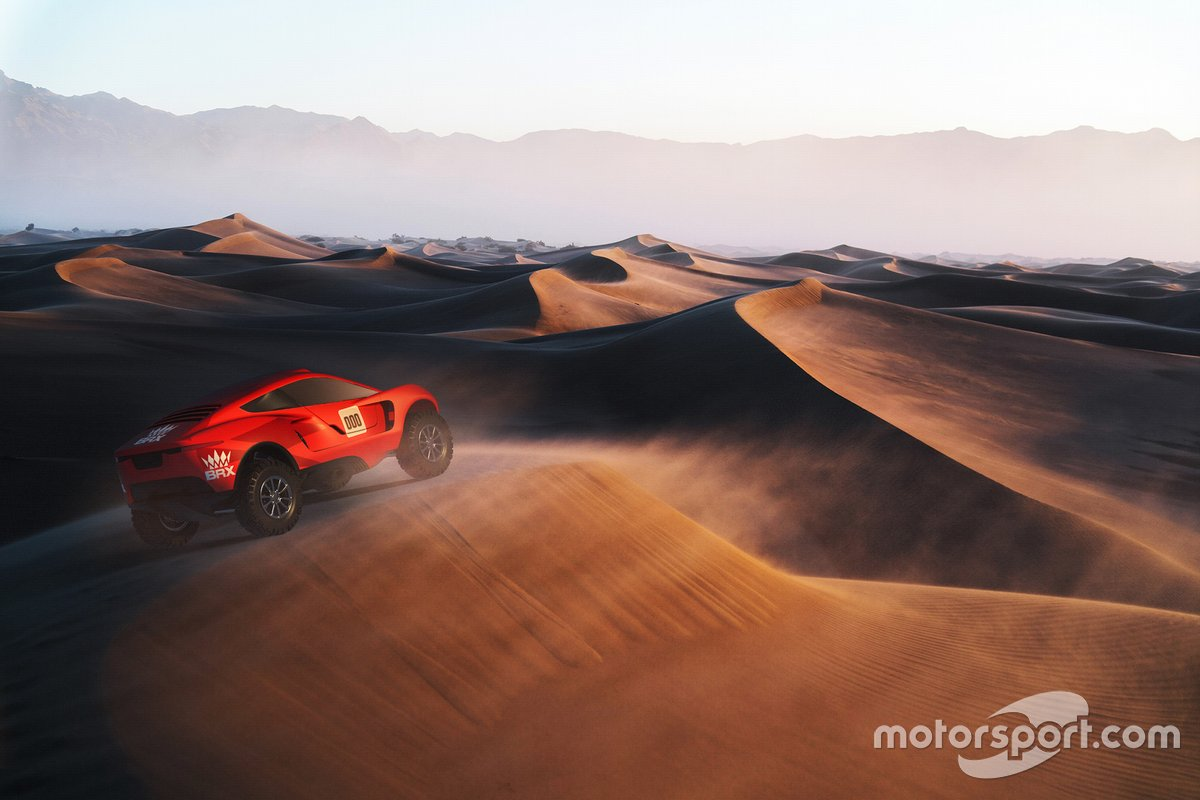El coche de Bahrain Raid Xtreme
