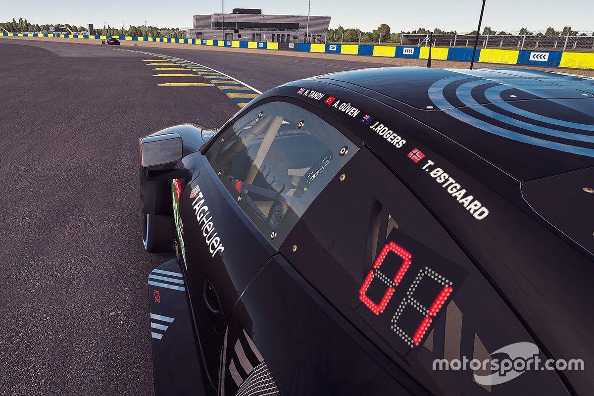 #93 Porsche Esports Team Porsche 911 RSR: Nick Tandy, Ayhancan Güven, Joshua Rogers, Tommy Ostgaard
