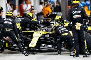 Даниэль Риккардо, Renault F1 Team R.S.20, в боксах