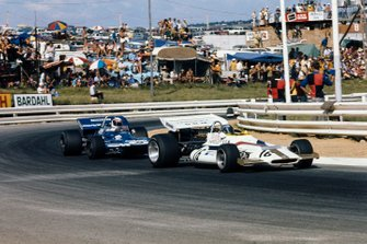 Pedro Rodriguez, British Racing Motors P160, Jackie Stewart, Tyrrell 001 Ford