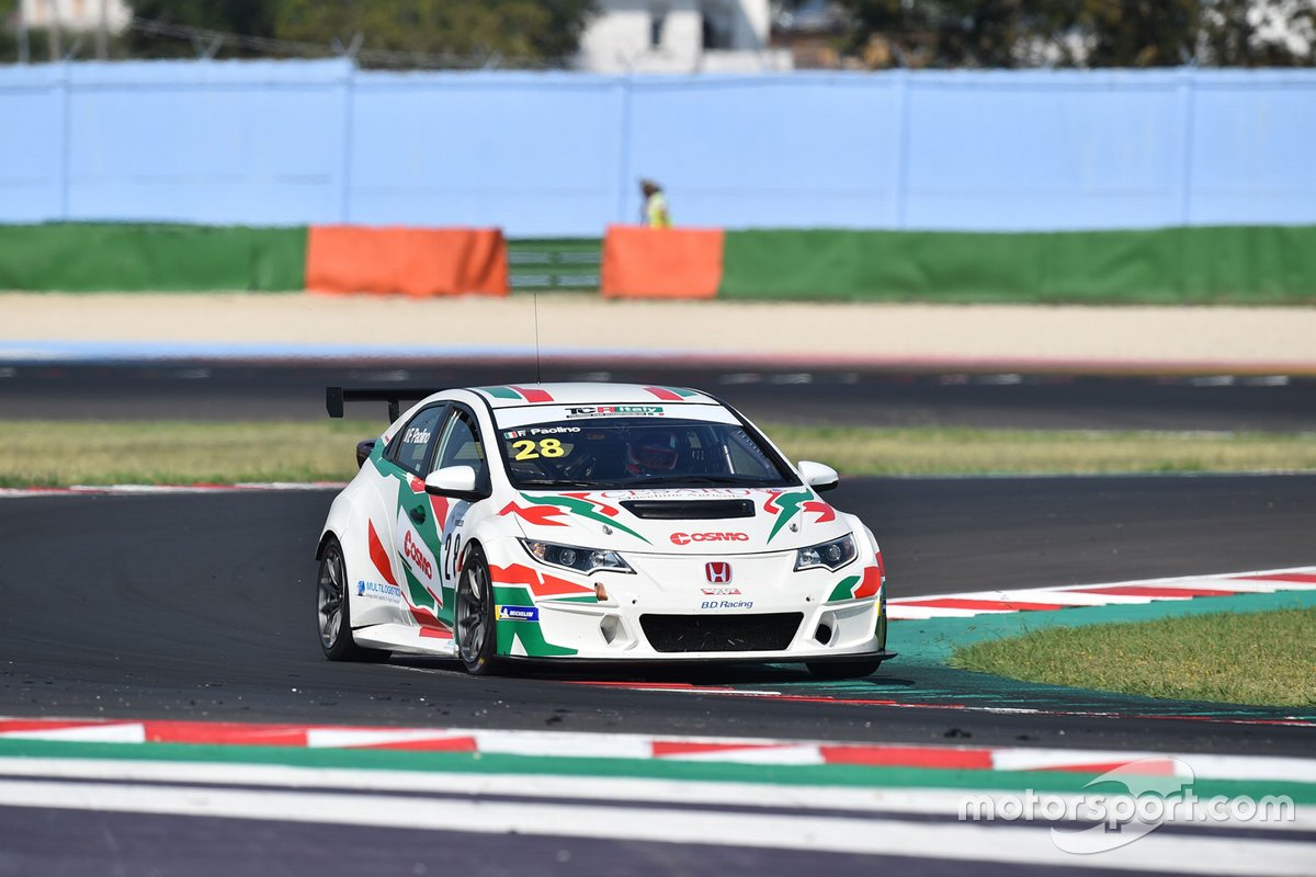 Federico Paolino, B.D. Racing, Honda Civic TCR