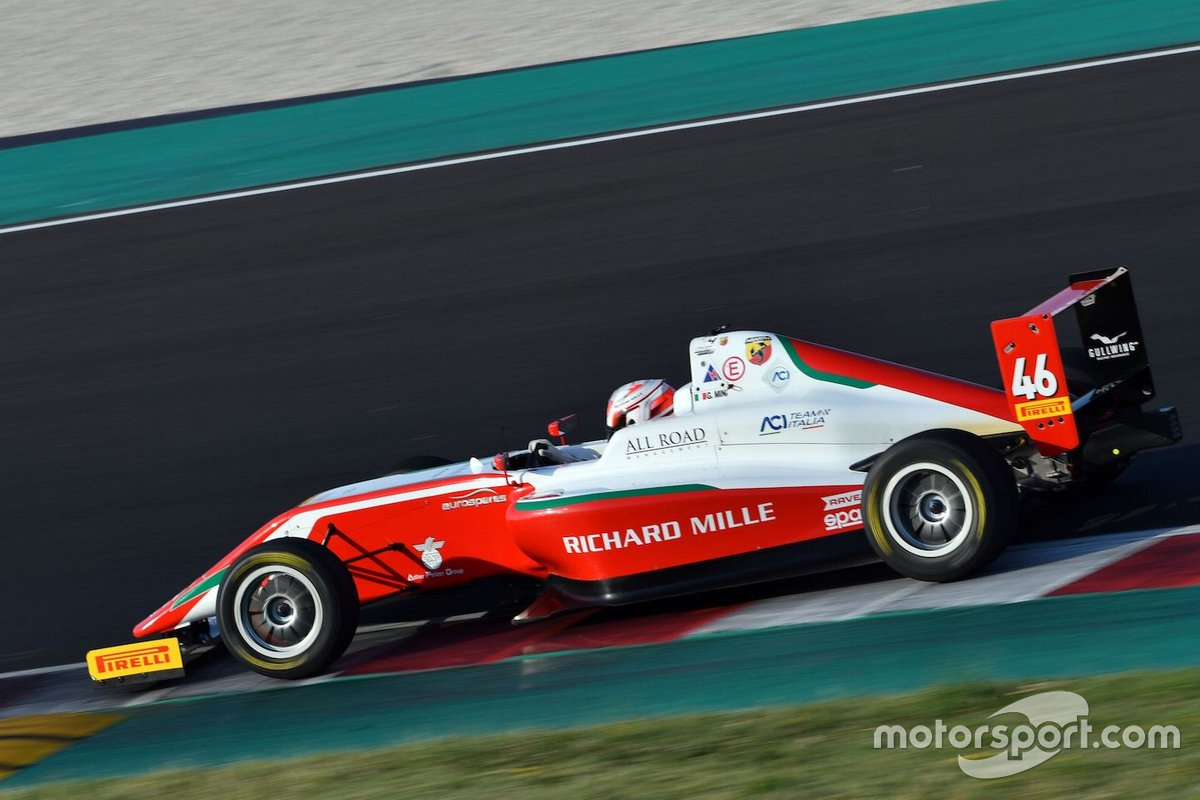 Gabriele Mini, Prema Powerteam, Tatuus F.4 T014 Abarth