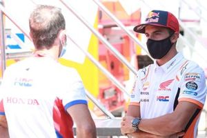 Alberto Puig, directeur de Repsol Honda Team, Marc Marquez, Repsol Honda Team