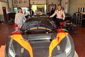 Mattia Michelotto, Sean Hudspeth, Matteo Greco, EasyRace, Ferrari 488 GT3