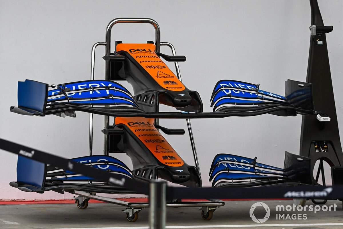 McLaren front wings and nose cone