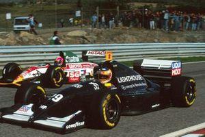 Karl Wendlinger, Sauber C12, Pedro Lamy, Lotus 107B