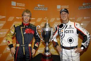 Sebastian Vettel and Michael Schumacher, Team Germany
