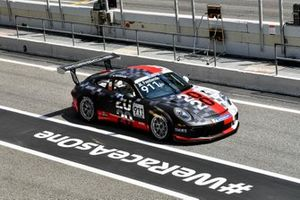 Michael Fassbender Actor in his Porsche Supercup Car