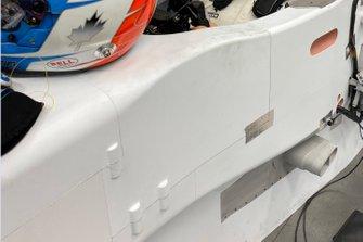 Примерка кресла Williams FW43 для Николя Латифи
