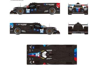 K2 UCHINO RACING車両デザイン