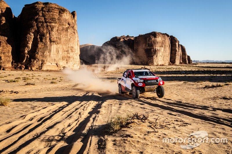 Etapa 2 (6 de janeiro): de Al Wajh a Neom (401 km, sendo 367 cronometrados)