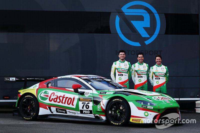 #76 R-Motorsport Aston Martin Vantage GT3: Scott Dixon, Jake Dennis, Rick Kelly