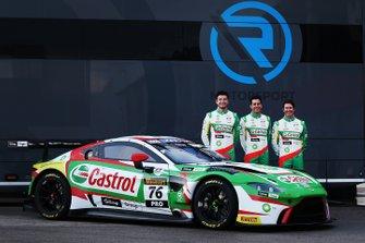 #76 R-Motorsport Aston Martin Vantage GT3: Jake Dennis, Rick Kelly, Scott Dixon