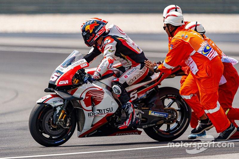 Sturz: Johann Zarco, Team LCR Honda