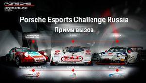 Афиша Porsche Esports Challenge Russia