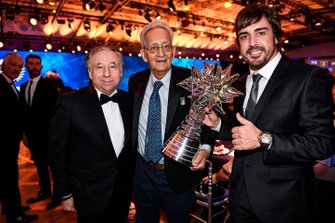 Fernando Alonso, Jean Todt, President, FIA