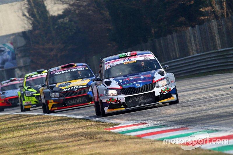 Bottarelli Luca, Zagami Giuseppe, Skoda Fabia, Monza Rally Show