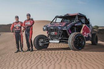 Nasser Al-Attiyah, Matthieu Baumel y el OT3 by Overdive
