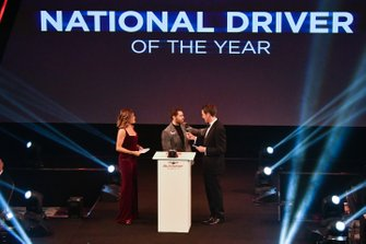 Presentatie van de National Driver of the Year award